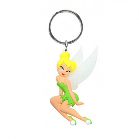 Tinkerbell PVC Soft Touch Keychain