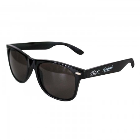 Tito's Vodka All Black Wayfarer Sunglasses