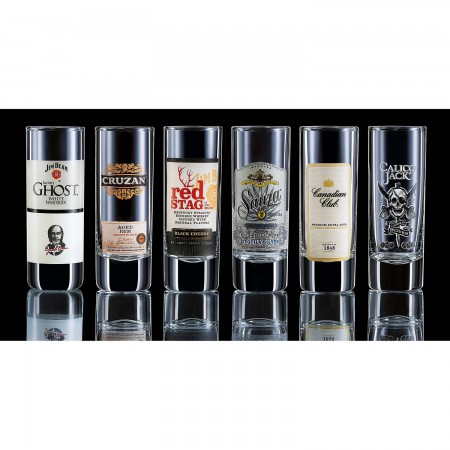 Top Shelf Liquor Shot Glass Set