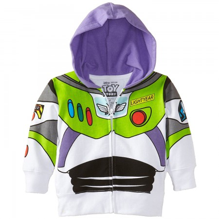 Toy Story Buzz Lightyear Toddler Costume Hooded Sweatshirt