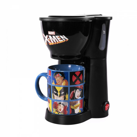Marvel X-Men Single Cup Coffee Maker with Mug