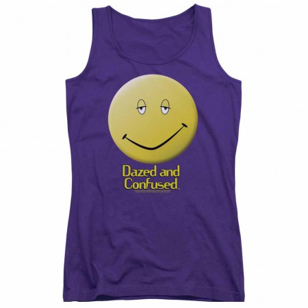 Dazed And Confused Dazed Smile Purple Juniors Tank Top