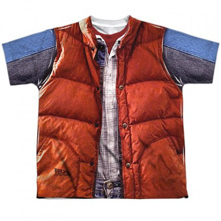 Back To The Future Marty McFly Vest Costume Tee