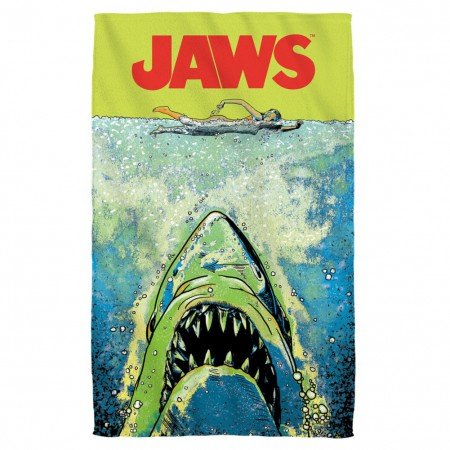 Jaws Neon Beach Towel