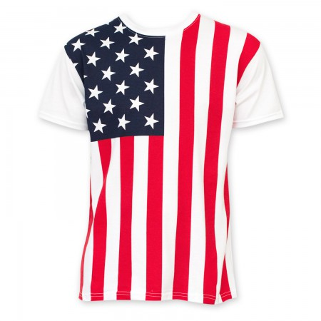 American Flag Basic Men's T-Shirt