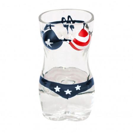 USA Bikini Shot Glass