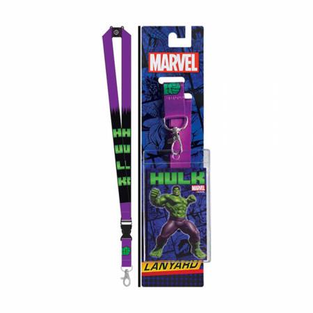 Incredible Hulk Purple Lanyard
