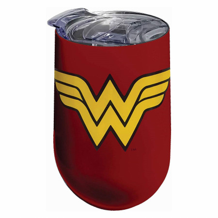 Wonder Woman Stainless Steel Wine Tumbler