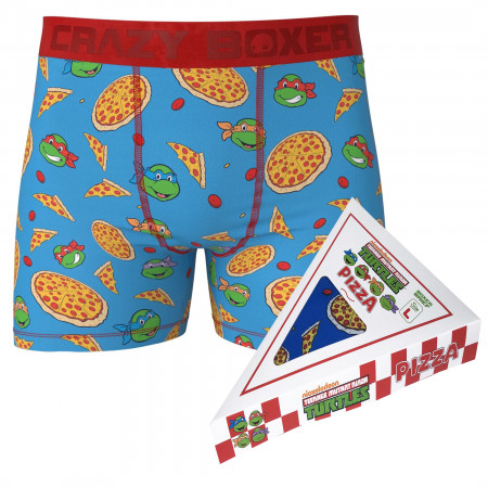 Teenage Mutant Ninja Turtle Boxer Briefs in Pizza Box