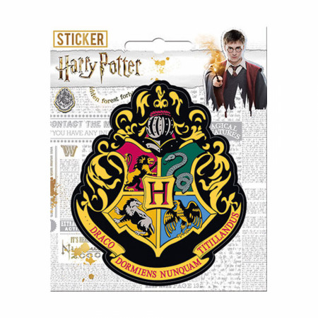 Harry Potter Hogwarts Crest Sticker
