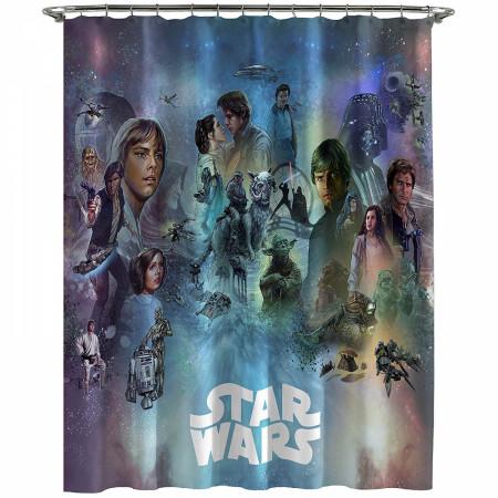 Star Wars Celebration Shower Curtain