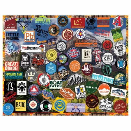Colorado Beers 1000 Piece Jigsaw Puzzle
