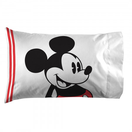 Disney Mickey Mouse Jersey Pillow Case