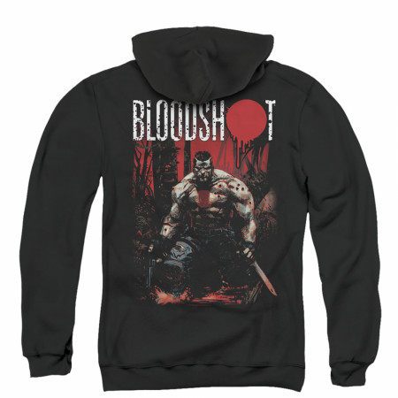 Bloodshot Welcome To The Jungle Zip Up Hoodie