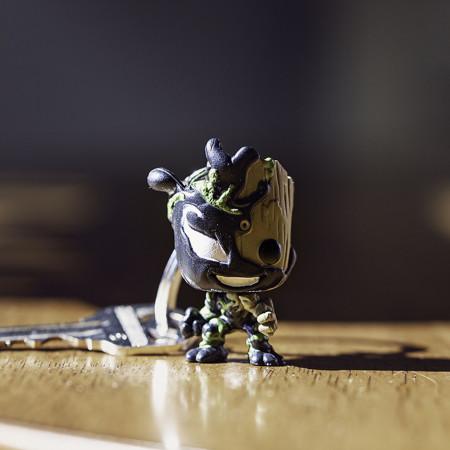 Venom and Groot Mashup Funko Pop! Keychain