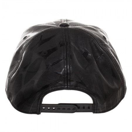 Venom Black on Black Snapback Hat