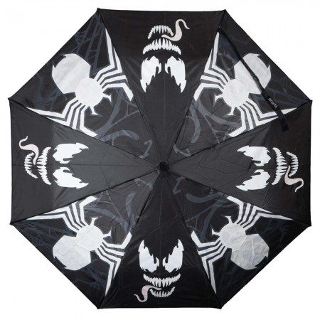 Venom Water Reactive Black Umbrella