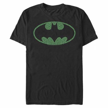 Batman Shamrock Logo St. Patrick's Day T-Shirt