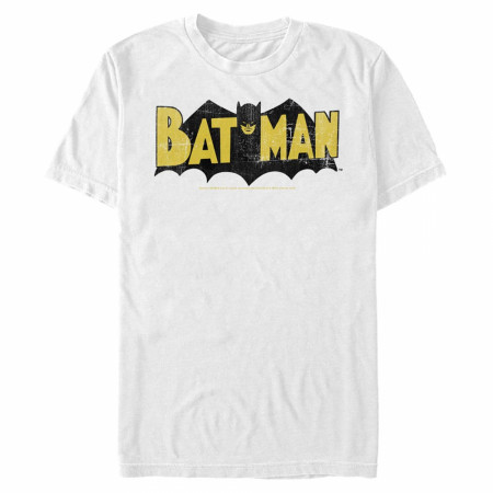 Batman Retro Symbol T-Shirt with matching Comic Graphic Face Mask