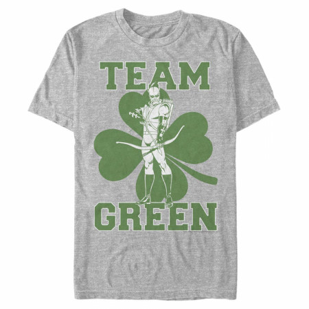 Green Arrow Team Green St. Patrick's Day T-Shirt