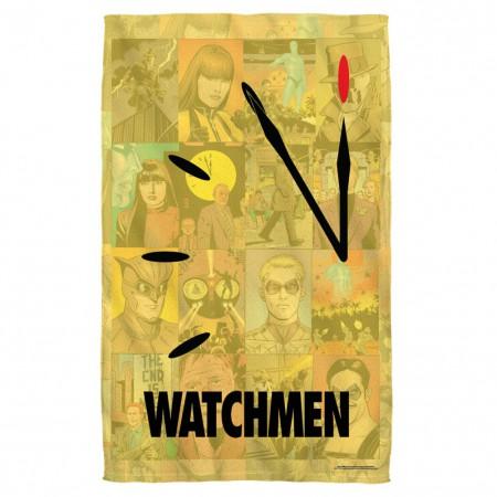 The Watchmen Beach Towel