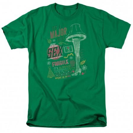 A Christmas Story Major Prize Tshirt