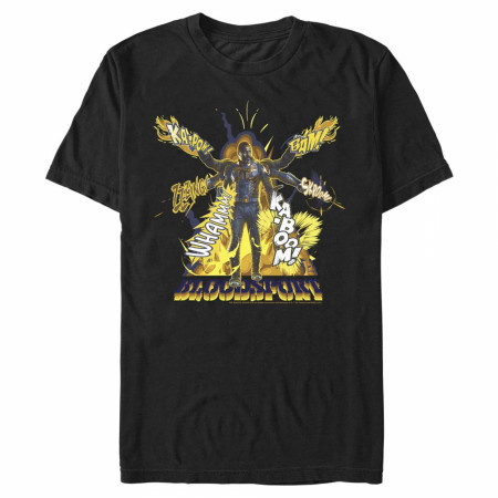The Suicide Squad Bloodsport Character KABOOM Men's T-Shirt
