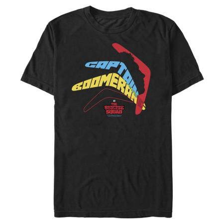 The Suicide Squad Captain Boomerang Logo Men's T-Shirt