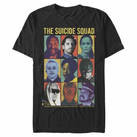 The Suicide Squad Box Up Portraits Men's T-Shirt
