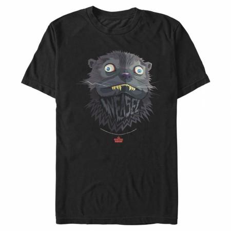 The Suicide Squad Weasel Character Portrait Men's T-Shirt