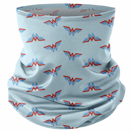 Wonder Woman Symbols All Over Print Full Face Mask Gaiter