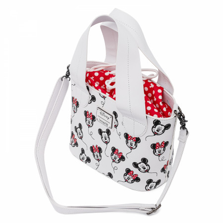 Disney Mickey and Minnie Mouse Balloons Handbag by Loungefly