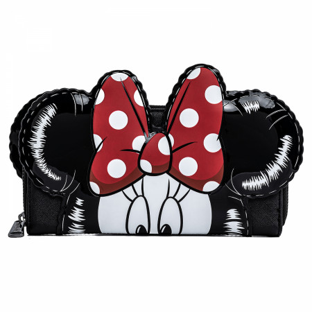 Disney Mickey and Minnie Mouse Balloons Cosplay Wallet by Loungefly