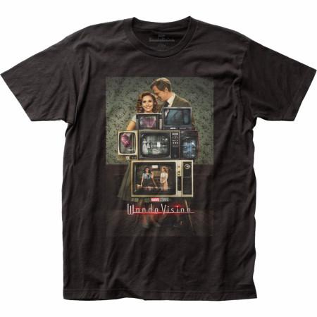 Marvel Studios WandaVision TV Poster T-Shirt