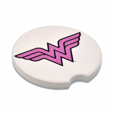Wonder Woman Symbol Absorbent Car Coasters