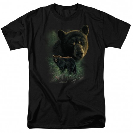 Black Bears Hunting and Fishing Tshirt