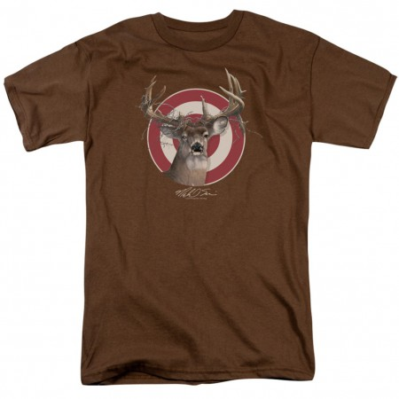 Deer Target Hunting and Fishing Tshirt