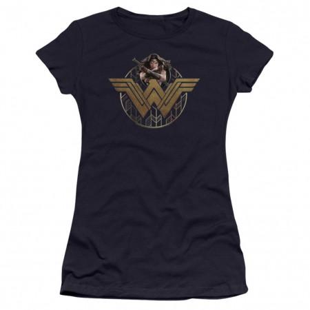 Wonder Woman Power Emblem Women's T-Shirt