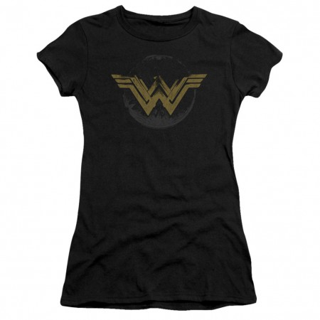 Wonder Woman Distressed Logo Women's T-Shirt