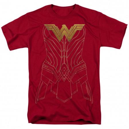 Wonder Woman Armor Costume Tshirt