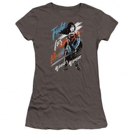 Wonder Woman Fight For Peace Women's Tshirt