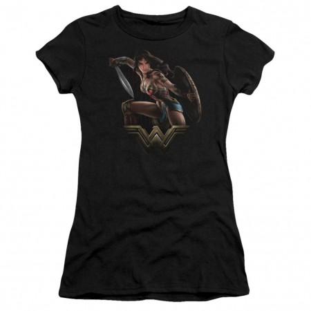 Wonder Woman Ready To Fight Women's Tshirt