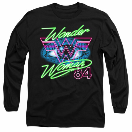 Wonder Woman 1984 Movie Eye Long Sleeve T-Shirt