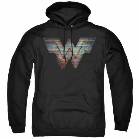 Wonder Woman 1984 Movie Static Logo Hoodie