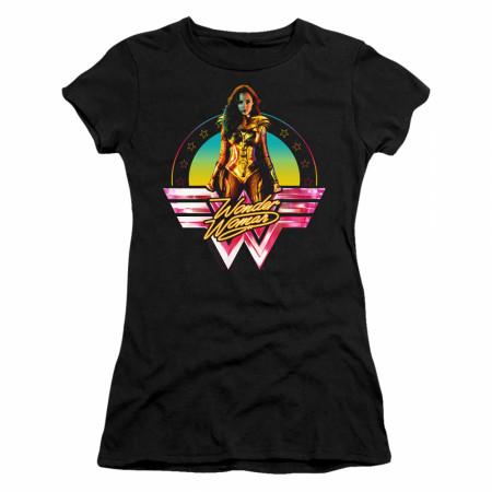 Wonder Woman 1984 Movie Color Pop Juniors T-Shirt