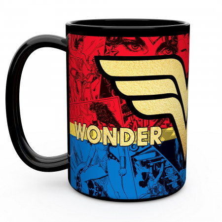 Wonder Woman 15oz Color Change Ceremic Mug
