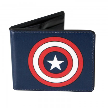 Captain America Logo Wallet