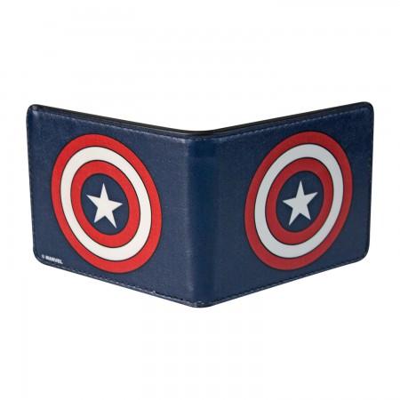 Captain America Logo Wallet