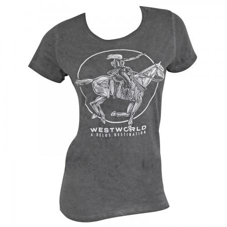 Westworld Women's Grey Delos T-Shirt