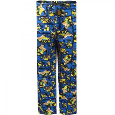 Wolverine Comic Pajama Pants